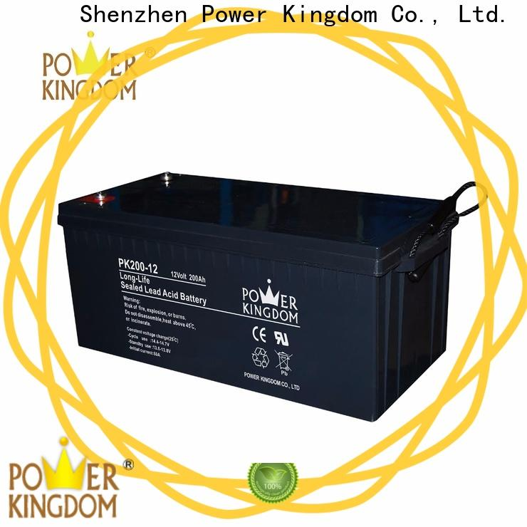 Power Kingdom 12v wet battery directly sale Automatic door system