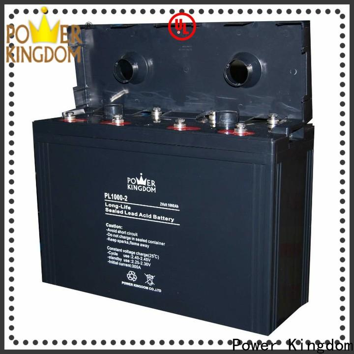 Power Kingdom sealed gel motorcycle battery Suppliers communication equipment
