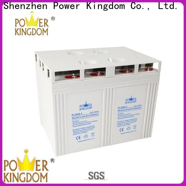 Power Kingdom Custom 12v gel cell marine battery china wholesale website fire system