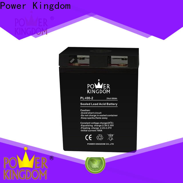Power Kingdom Top sealed cell battery factory fire system