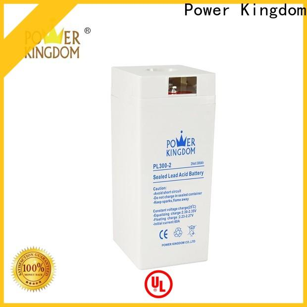 Power Kingdom h7 agm battery factory price electric toys