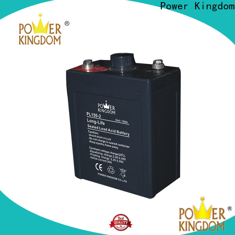 Power Kingdom comprehensive after-sales service new agm battery factory communication equipment