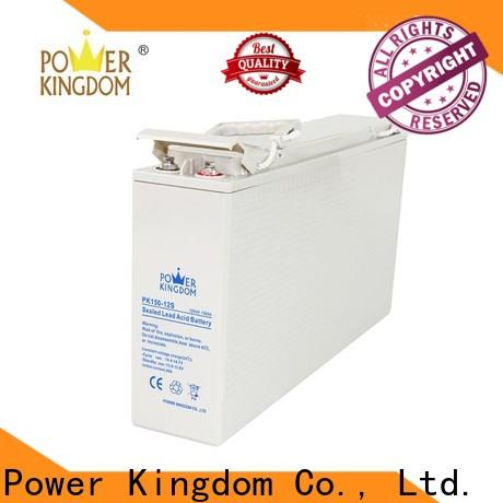 Power Kingdom agm sealed lead acid battery Suppliers fire system