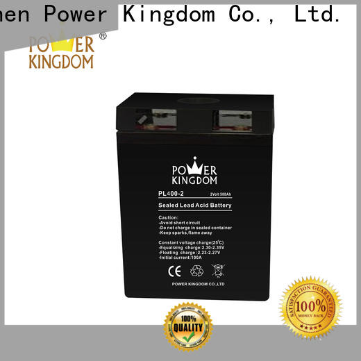 Power Kingdom comprehensive after-sales service can you charge an agm battery with a regular charger factory price electric toys