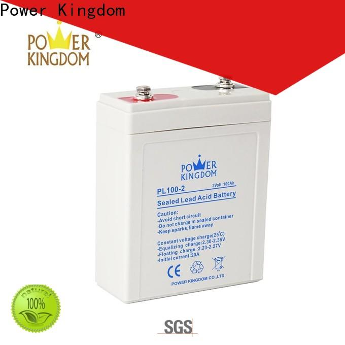 Power Kingdom fine workmanship best agm battery manufacturers fire system