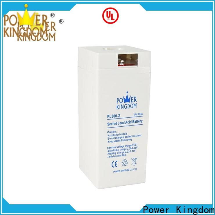 Power Kingdom High-quality bosch agm battery for business electric toys