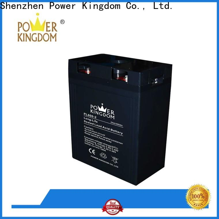 Power Kingdom comprehensive after-sales service 12v vrla battery Suppliers communication equipment