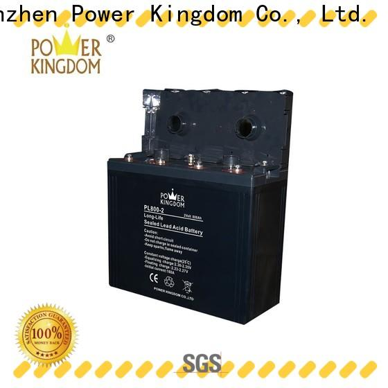 Power Kingdom 6 volt gel cell company fire system