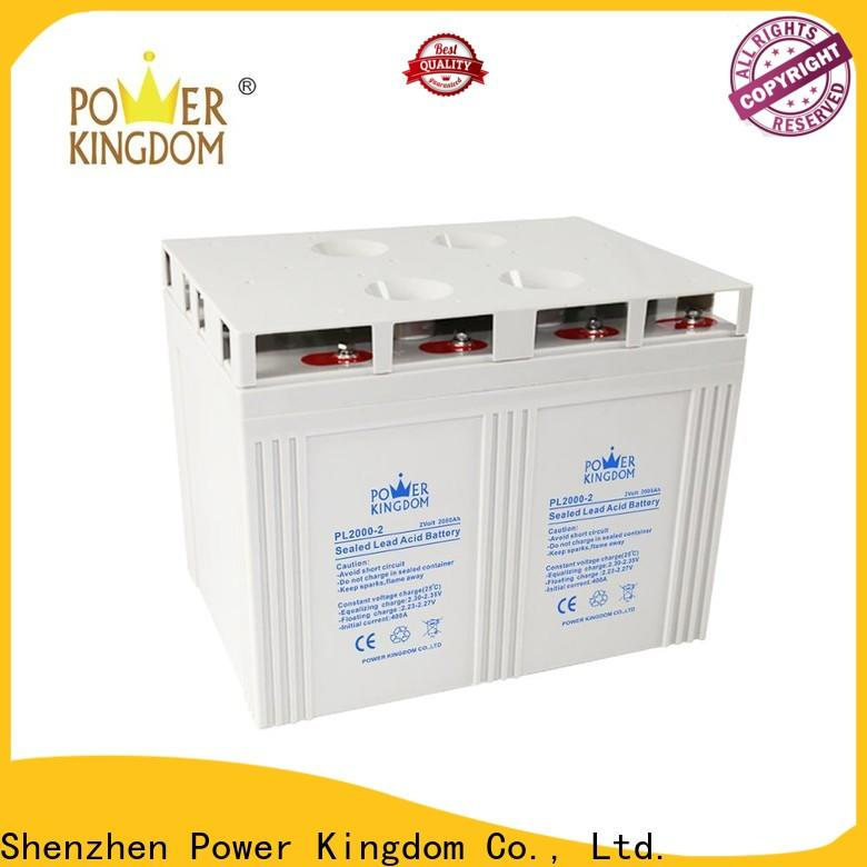 Power Kingdom Wholesale agm glass mat battery for business communication equipment