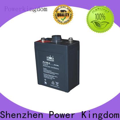 Power Kingdom 90ah agm battery china wholesale website communication equipment