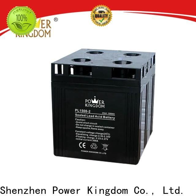 Power Kingdom Best sealed battery maintenance Supply fire system