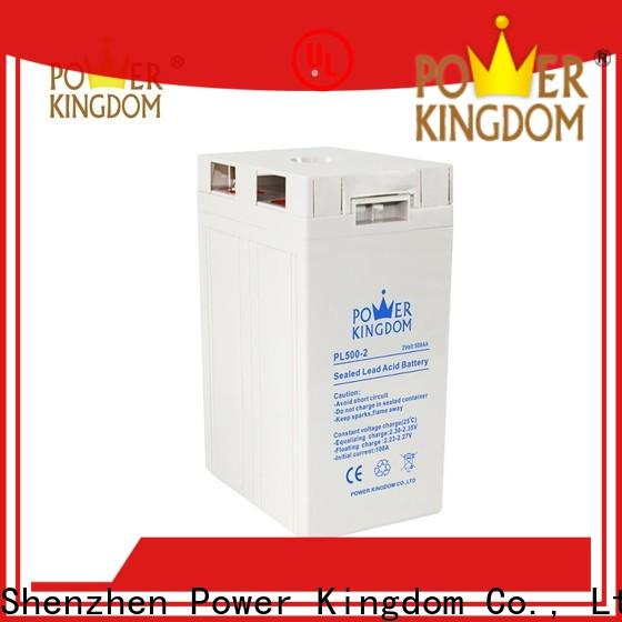 Power Kingdom Custom agm marine battery charger Supply fire system