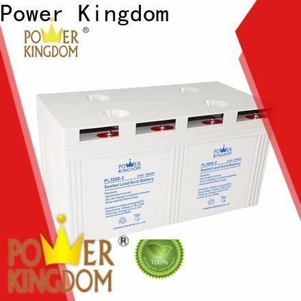 Power Kingdom gel cell company fire system