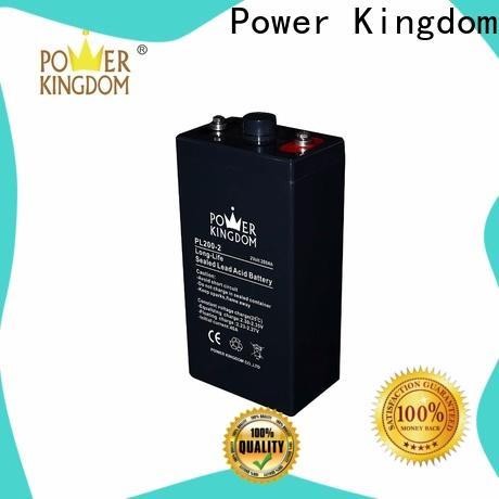 Power Kingdom fine workmanship agm batteries for solar Suppliers communication equipment