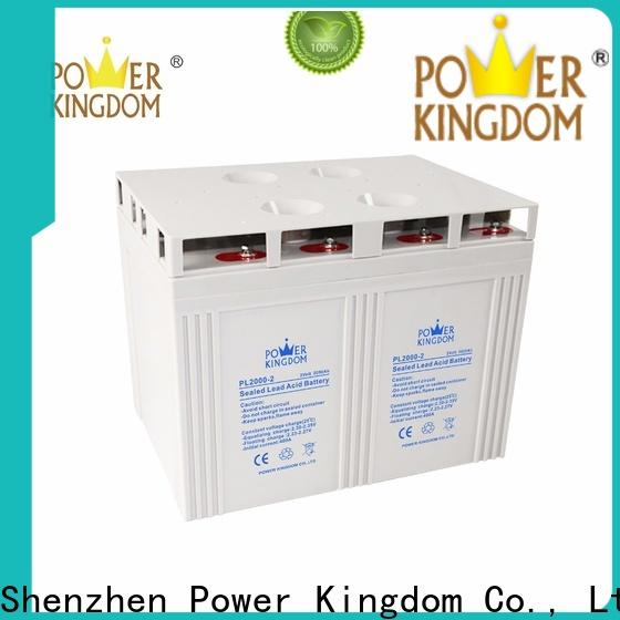 Power Kingdom New gel cell batteries for sale directly sale communication equipment