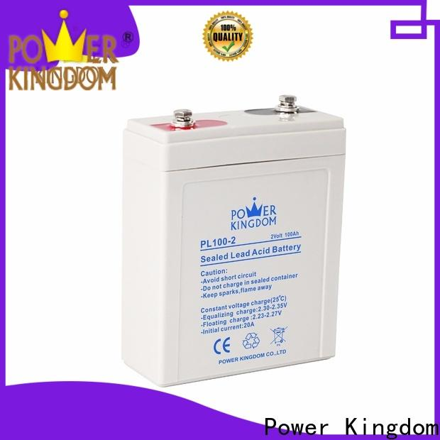 Power Kingdom Latest glass mat battery prices for business fire system