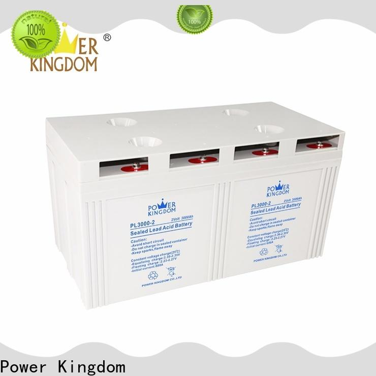 Power Kingdom comprehensive after-sales service 8d gel battery factory price fire system
