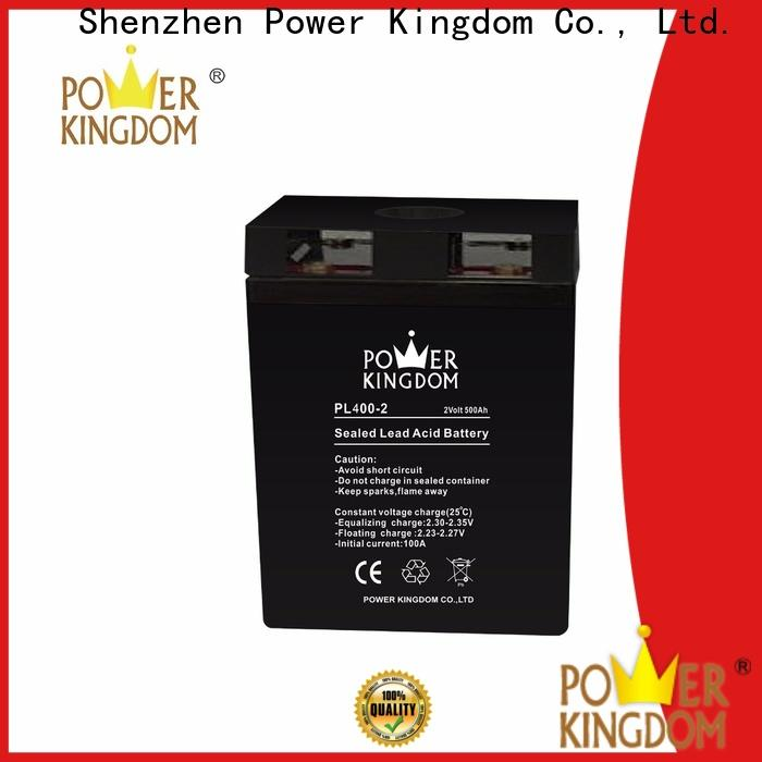 Power Kingdom Custom agm battery for solar system factory fire system