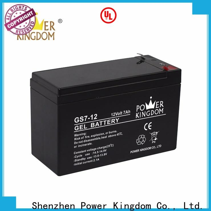 Power Kingdom Latest 12v agm car battery manufacturers fire system