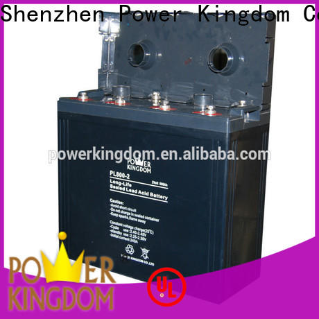 Power Kingdom Best agm battery capacity directly sale fire system