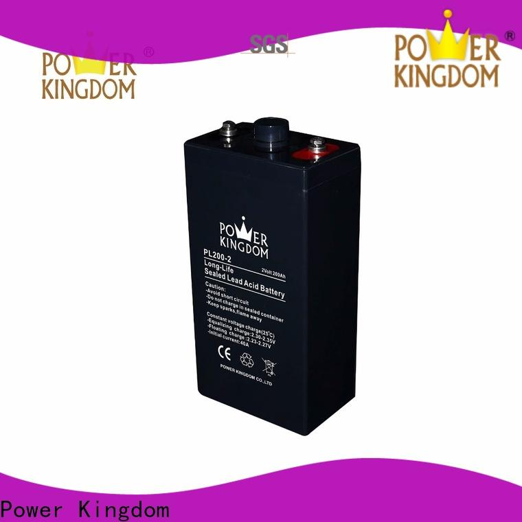 Power Kingdom Latest agm battery low voltage Supply fire system