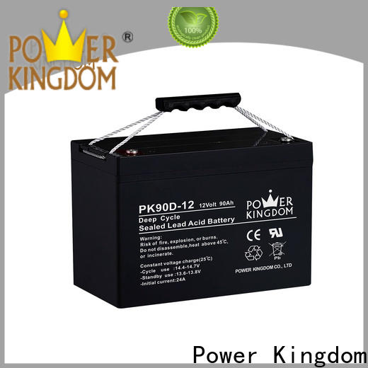 Power Kingdom Best glass mat company deep discharge device