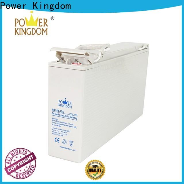 Power Kingdom 100ah deep cycle battery sale manufacturers wind power systems
