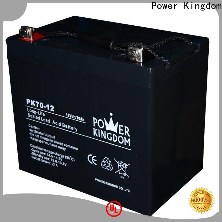 Power Kingdom High-quality deep cycle batteries solar panels factory price deep discharge device