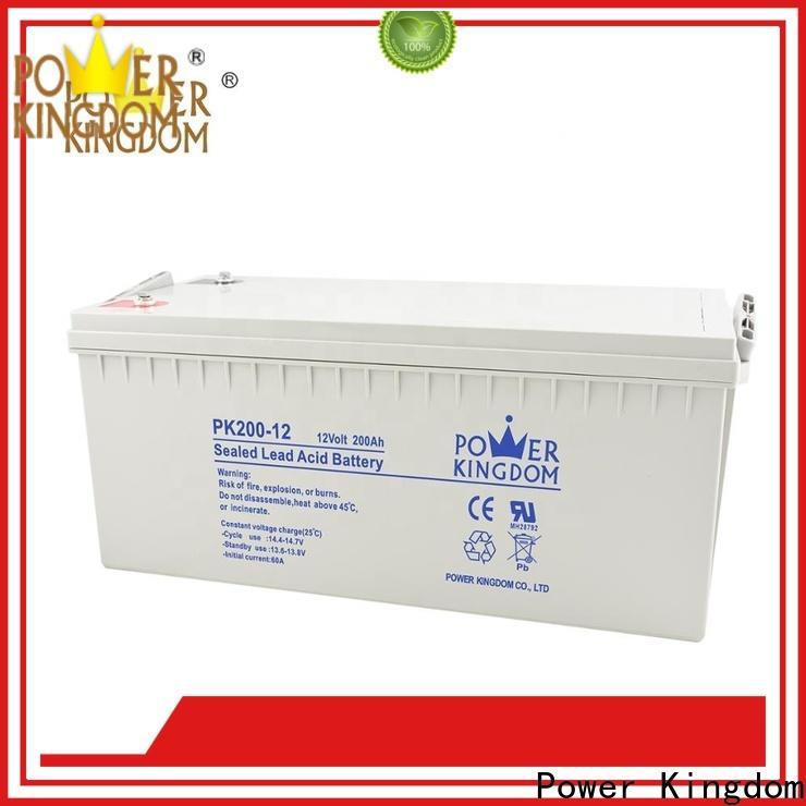 Power Kingdom agm type battery manufacturers