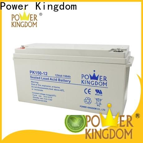 Power Kingdom 12v deep cycle battery prices for business vehile and power storage system