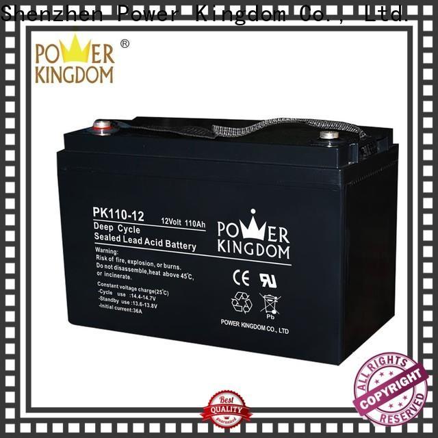 Power Kingdom sla agm factory vehile and power storage system