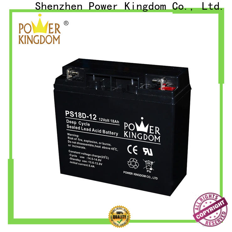 Power Kingdom agm gel cell battery Supply deep discharge device