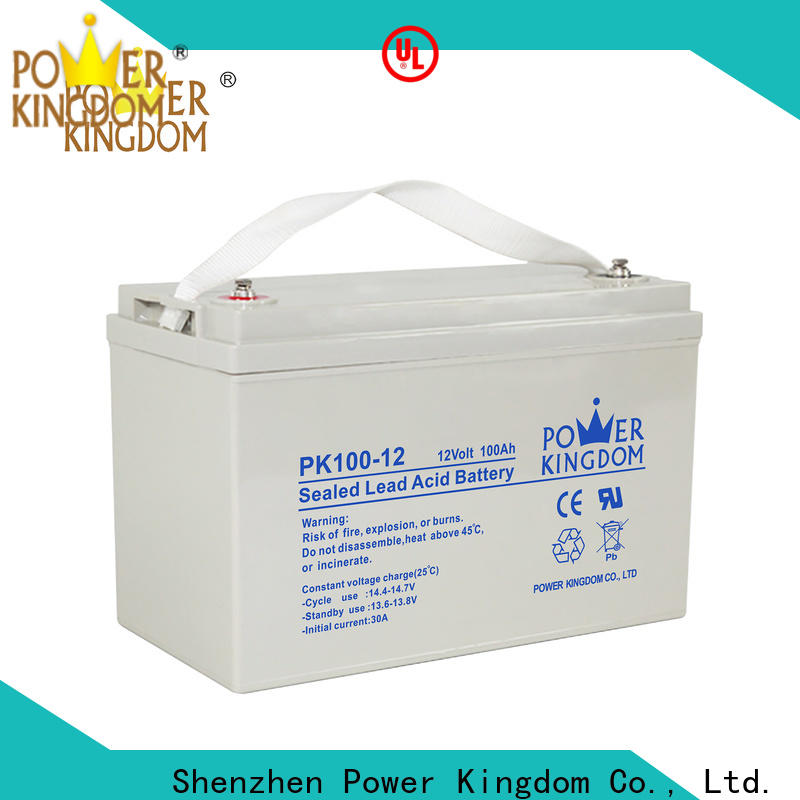 Power Kingdom deep cycle battery life for business vehile and power storage system