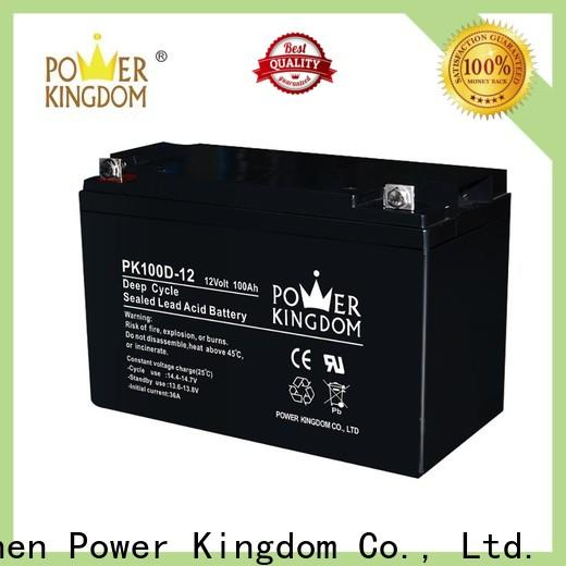 Power Kingdom New deep cycle battery brands Suppliers deep discharge device