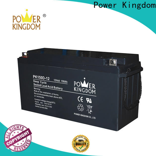 Power Kingdom cycle 130 amp deep cycle battery Supply deep discharge device