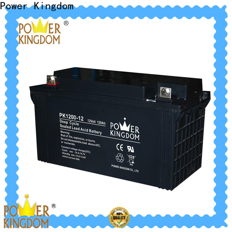 cycle 125ah 12v agm deep cycle battery factory price