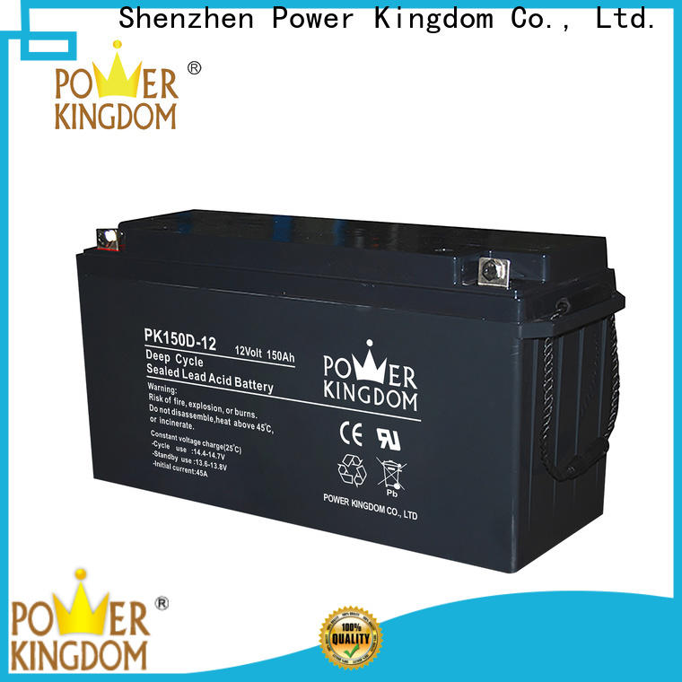 Power Kingdom Latest deep cycle marine battery charger Suppliers vehile and power storage system