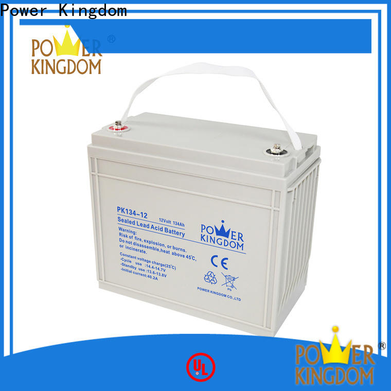 Power Kingdom deep cycle battery amp hours factory wind power systems