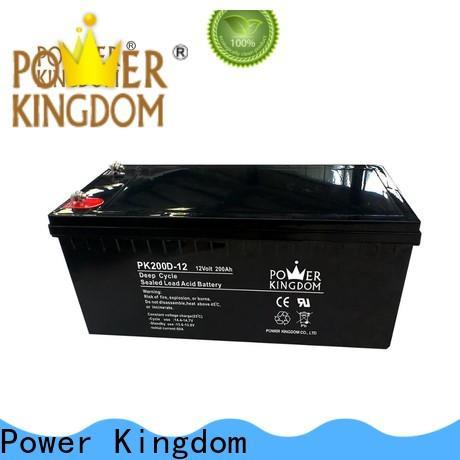 Power Kingdom 12v agm Suppliers vehile and power storage system