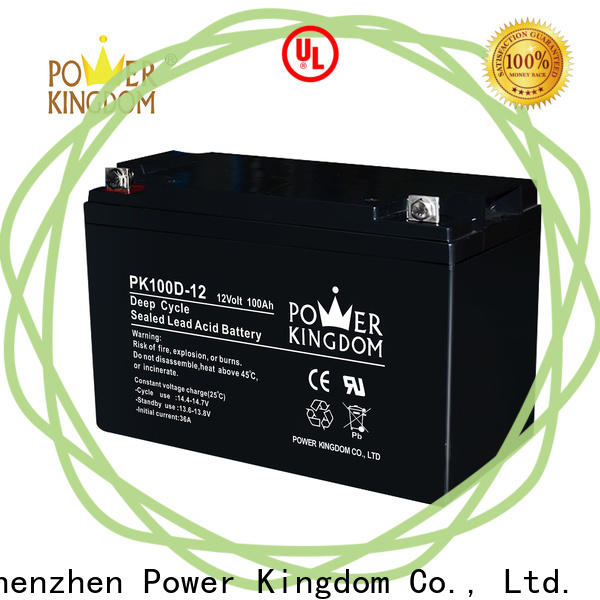 Power Kingdom deep 12 volt deep cycle marine battery prices Suppliers vehile and power storage system