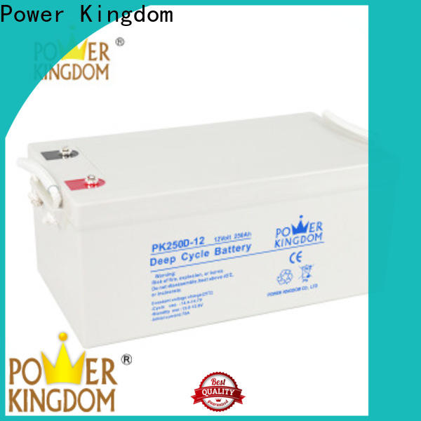 Latest 8d deep cycle battery factory price deep discharge device