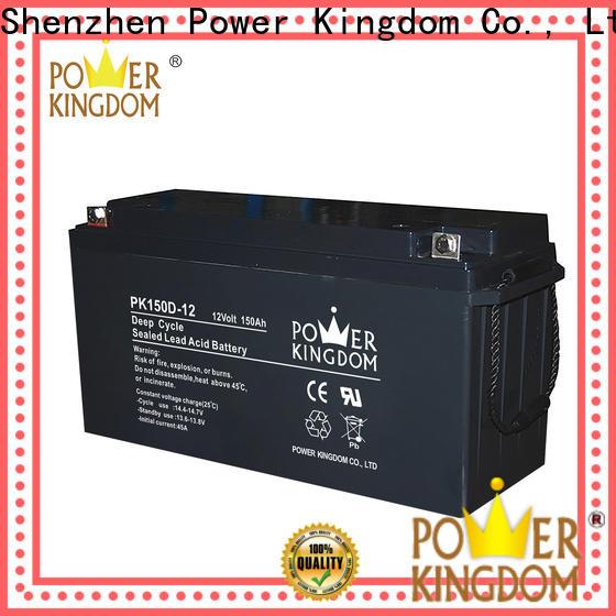 Power Kingdom High-quality gel marine battery manufacturers