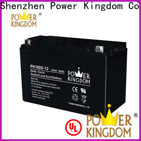 Power Kingdom Best 12 volt deep cycle marine battery prices manufacturers wind power systems