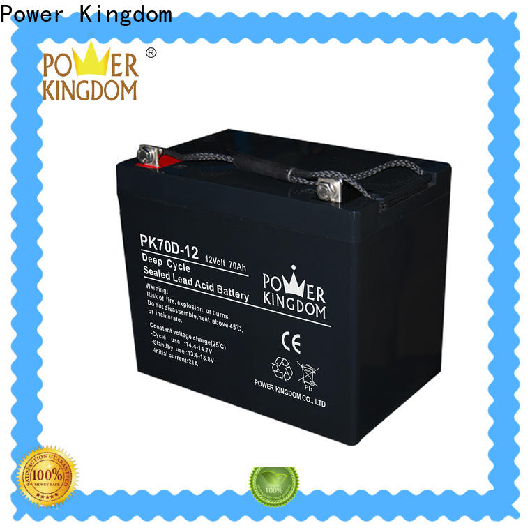 Power Kingdom battery 12 volt deep cycle company vehile and power storage system