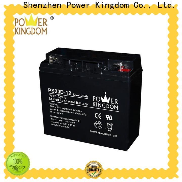 Power Kingdom abm battery wholesale deep discharge device
