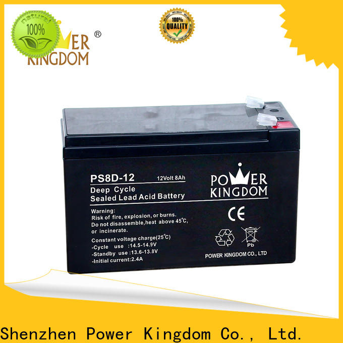 Power Kingdom wet cell deep cycle battery supplier wind power systems