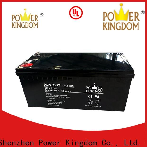 Power Kingdom agm deep cycle marine battery manufacturers wind power systems