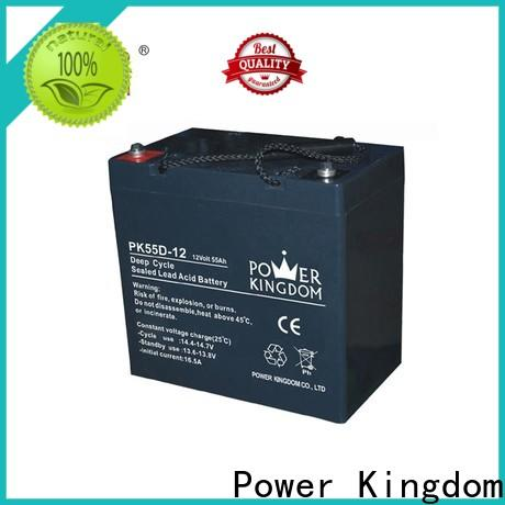 Power Kingdom no electrolyte leakage deep cycle battery voltage company wind power systems