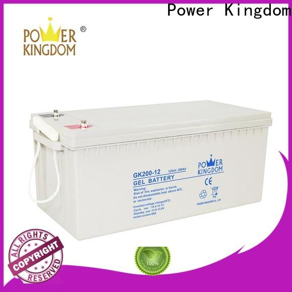Power Kingdom deep the best agm battery personalized wind power systems