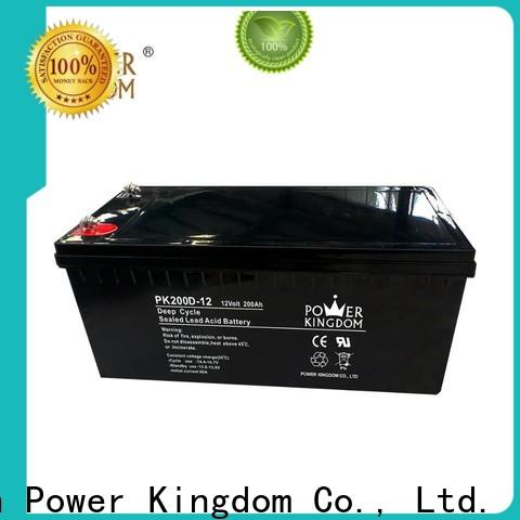 Power Kingdom High-quality amg deep cycle batteries wholesale wind power systems